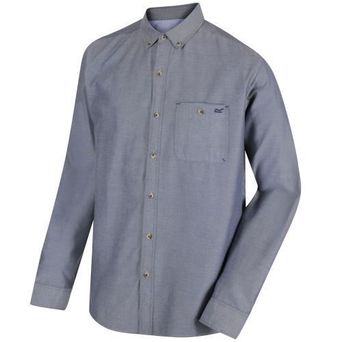 Regatta - BACCHUS COOLWEAVE LONG SLEEVE SHIRT  - Chambrey